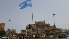 La bandera de La Línea de la Concepción. Foto: lalínea.es