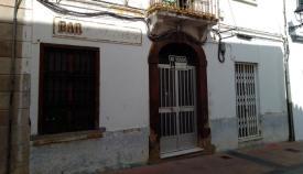 Estado actual del antiguo bar El Lechero