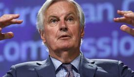 Michel Barnier, negociador jefe de la UE