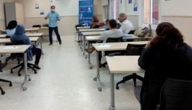 Imagen del curso desarrollado en el barrio de la Caridad