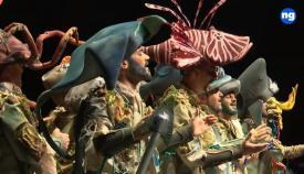 El Batallón del Mar, anoche en La Línea