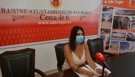 La delegada de Empleo de San Roque, Belén Jiménez