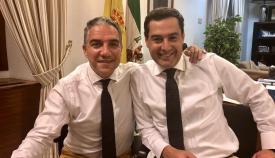 Juanma Moreno tendrá a Elías Bendodo como consejero de Presidencia