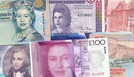 Billetes de libras gibraltareñas