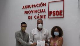 Ruiz Boix presentando su candidatura para liderar los delegados en el Congreso Federal. Foto: NG