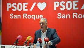 Juan Carlos Ruiz Boix, esta mañana en rueda de prensa. Foto: NG