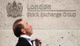 Rótulo de la Bolsa de Londres