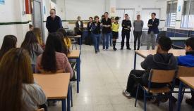 El IES Baelo Claudia celebra una charla por el Día de la Mujer