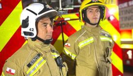 El nuevo kit que usarán los bomberos. Foto GG