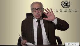 Bossano, en una intervención ante el Comité Descolonizador de la ONU