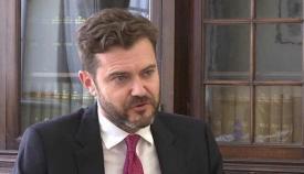 El parlamentario del GSD, Damon Bossino. Foto GSD
