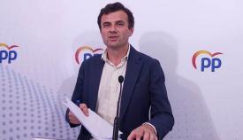 El parlamentario y secretario provincial del PP, Bruno García
