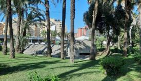 Un búnker el Parque Princesa Sofía de La Línea. Foto: lalínea.es