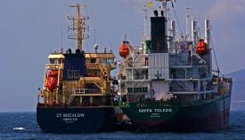 bunkering Gibraltar suministro combustible desde buques cisterna