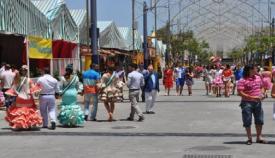 Imagen de archivo de la Feria Real de Algeciras
