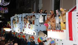 Cabalgata de Reyes Magos del año pasado en Gibraltar