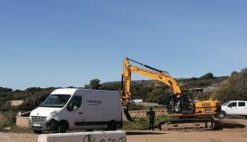 Los trabajos ya en empezado en la Playa de Torrenueva