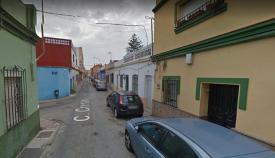 Intersección entre ambas calles de La Línea. Foto: Google Maps