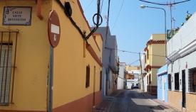 Una de las calles afectadas con este proyecto urbanístico