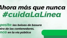 Una imagen del cartel oficial de la campaña de limpieza