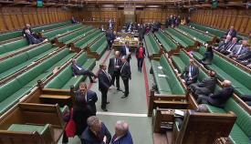 La Cámara de los Comunes en una imagen de archivo