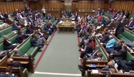 Cámara de los Comunes británica