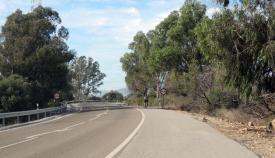 Tramo de la carretera entre Cuatro Vientos y el Casino. Foto: Multimedia