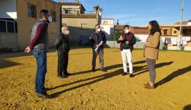 Las mejoras se han puesto en conocimiento del Loluba Club de Fútbol. Foto Ayto Algeciras