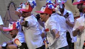 Imagen de archivo de una agrupación carnavalesca en San Roque