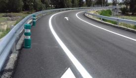 Un tramo de la carretera del Higuerón. Foto: NG