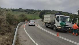 Carretera del Faro. Foto AA