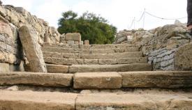 Imagen del yacimiento arqueológico de Carteia.
