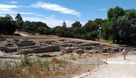 Imagen del yacimiento arqueológico de Carteia. Foto Verdemar.