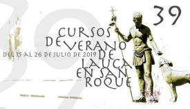 Cartel de los Cursos de Verano de la Universidad de Cádiz en San Roque