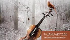 Cartel anunciador de los conciertos de Año Nuevo en Gibraltar
