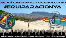 Cartel reivindicativo de Jusapol