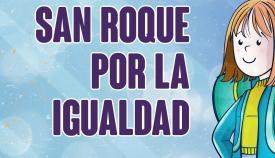 Cartel anunciador del certamen por la igualdad. Foto SRM