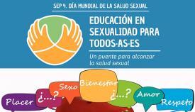 Imagen parcial del cartel anunciador del Día Mundial de la Salud Sexual