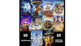 Cartelera de cine de verano en San Roque