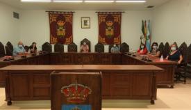 Un momento de la reunión entre CCOO y Juan Franco. Foto: NG