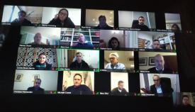 Reunión telemática de la Celac. Foto GG