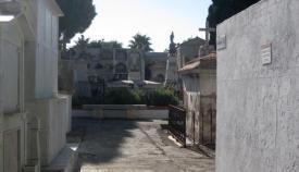 Parte antigua del cementerio de San Roque