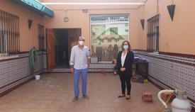 Visita de la Fundación Cepsa al centro Carmen Herrero en La Línea