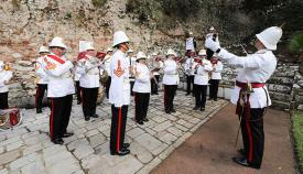 Ceremonia en recuerdo de la batalla de Trafalgar
