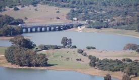 Imagen de archivo del pantano de Charco Redondo, en Los Barrios