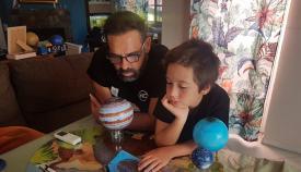 El taller online 'El cielo desde mi casa' se desarrolla con éxito en Algeciras