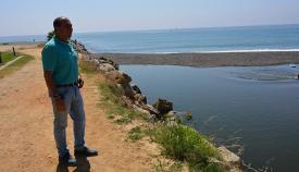 La desembocadura del Guadiaro, nuevamente bloqueada