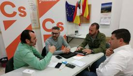 Ciudadanos La Línea mantuvo un encuentro con representantes sindicales de la Policía Local