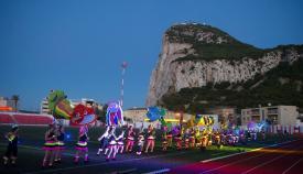 Una imagen de archivo de los Juegos del Estrecho en Gibraltar