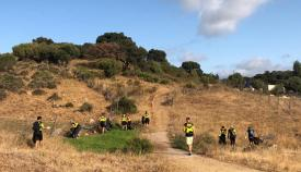 Los voluntarios recorrieron varios puntos de Algeciras